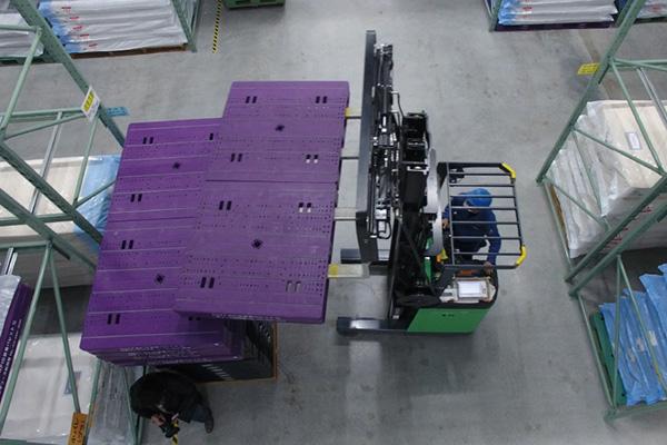 工場内部の撮影